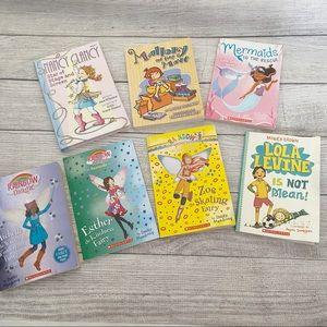Girls chapter books (grade 1-4 approx)
